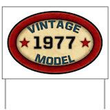 1977 Yard Signs