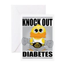 Knock-Out-Diabetes Greeting Card