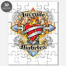 Juvenile-Diabetes-Cross--Heart Puzzle