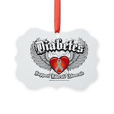 Diabetes-Wings Ornament