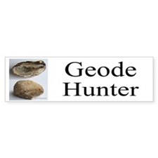 Geode Hunter Bumper Bumper Stickers