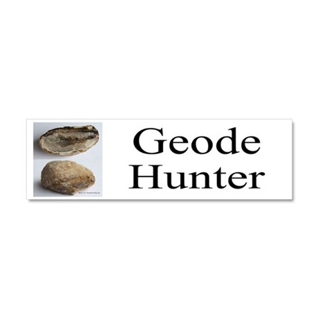 Geode Hunter Car Magnet 10 X 3