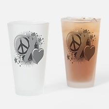 Diabetes-PLC-blk Drinking Glass