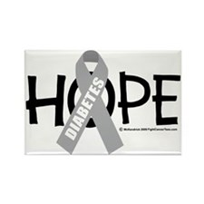Diabetes-Hope-2 Rectangle Magnet