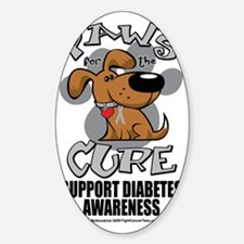 Paws-for-the-Diabetes-Cancer Decal