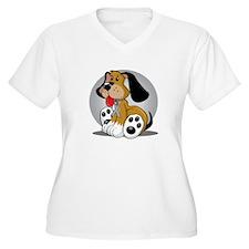 Diabetes-Dog-blk T-Shirt
