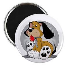 Diabetes-Dog-blk Magnet