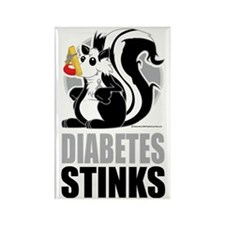 Diabetes-Stinks Rectangle Magnet