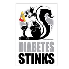 Diabetes-Stinks Postcards (Package of 8)