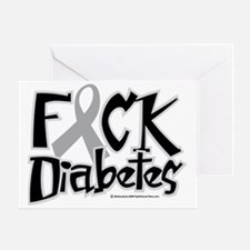 Fuck-Diabetes Greeting Card