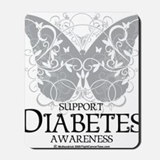 Diabetes-Butterfly Mousepad