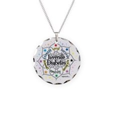 Juvenile-Diabetes-Lotus Necklace