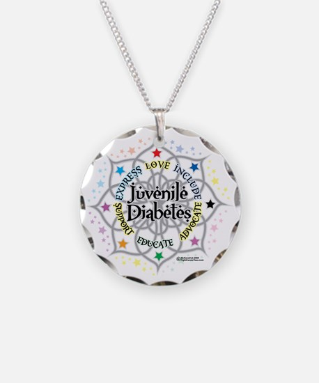 Juvenile-Diabetes-Lotus Necklace