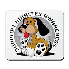Diabetes-Dog Mousepad