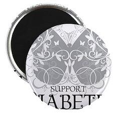 Diabetes-Butterfly Magnet