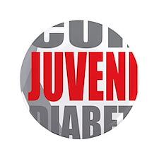 """Cure-Juvenile-Diabetes-2 3.5"""" Button"""