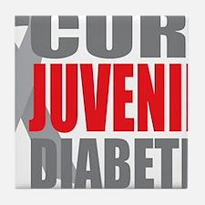 Cure-Juvenile-Diabetes-2 Tile Coaster