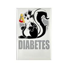 Diabetes-Stinks-blk Rectangle Magnet
