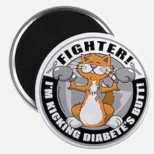 Diabetes-Cat-Fighter Magnet