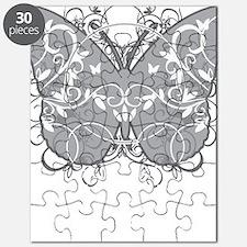 Diabetes-Butterfly-blk Puzzle