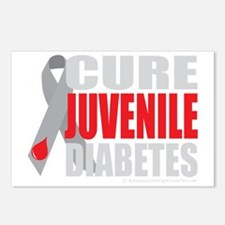 Cure-Juvenile-Diabetes-2- Postcards (Package of 8)