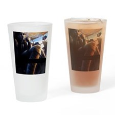 turbulence Drinking Glass