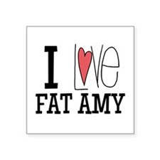 I Love Fat Amy Sticker