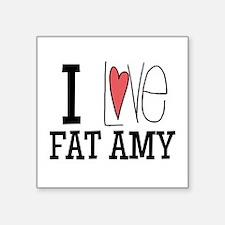 I Love Fat Amy Sticker