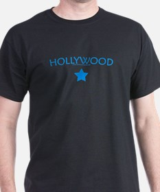 "Hollywood ""Star"" - Black T-Shirt"