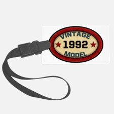 vintage-model-1992 Luggage Tag