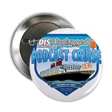 "DIS Unplugged Podcast 2.0 Logo 2.25"" Button"