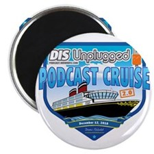 DIS Unplugged Podcast 2.0 Logo Magnet
