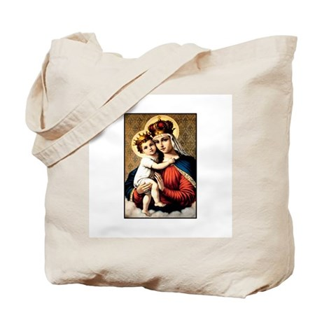 Mary - Madonna and Child Tote Bag