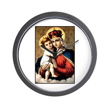 Mary - Madonna and Child Wall Clock