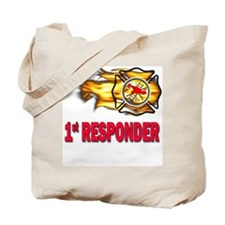 Fire Department First Responder Tote Bag