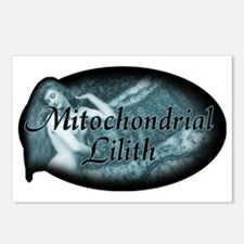 mitochondrial-lilith_dark Postcards (Package of 8)