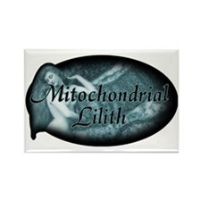 mitochondrial-lilith_dark Rectangle Magnet