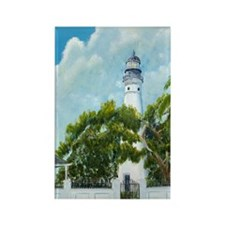 Key West Light tall Rectangle Magnet