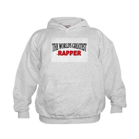 """The World's Greatest Rapper"" Kids Hoodie"