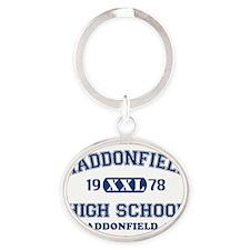 Haddonfield Oval Keychain