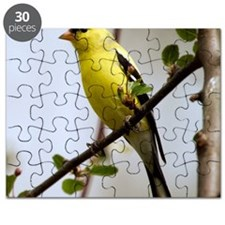 2-American Goldfinch cropped Puzzle