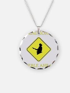 Irish Dance Caution Necklace