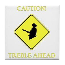 Irish Dance Caution Tile Coaster
