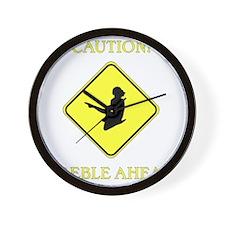 Irish Dance Caution Wall Clock