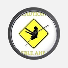 Irish Dance Caution Wall Clock