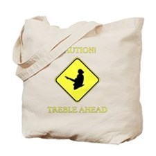 Irish Dance Caution Tote Bag