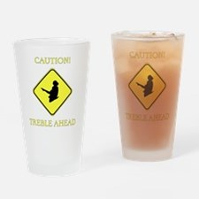 Irish Dance Caution Drinking Glass