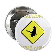 "Irish Dance Caution 2.25"" Button"