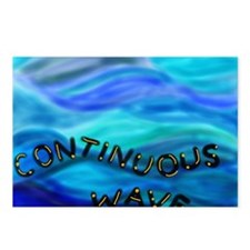 continuous wave BMP Postcards (Package of 8)
