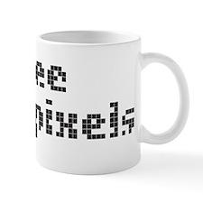 Dead Pixels Small Mug